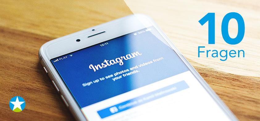 Muss ich auf Instagram?