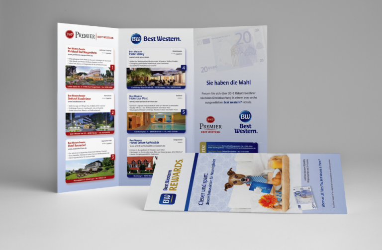 Best Western Rewards Flyer von sternundberg