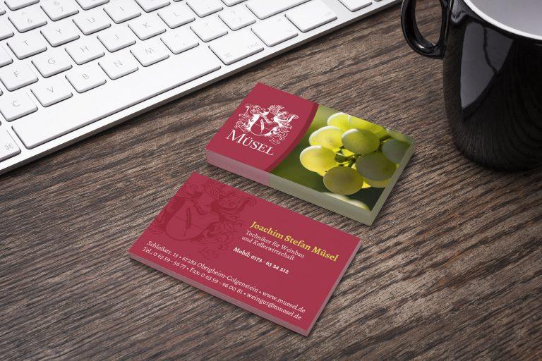 Visitenkarten-muesel